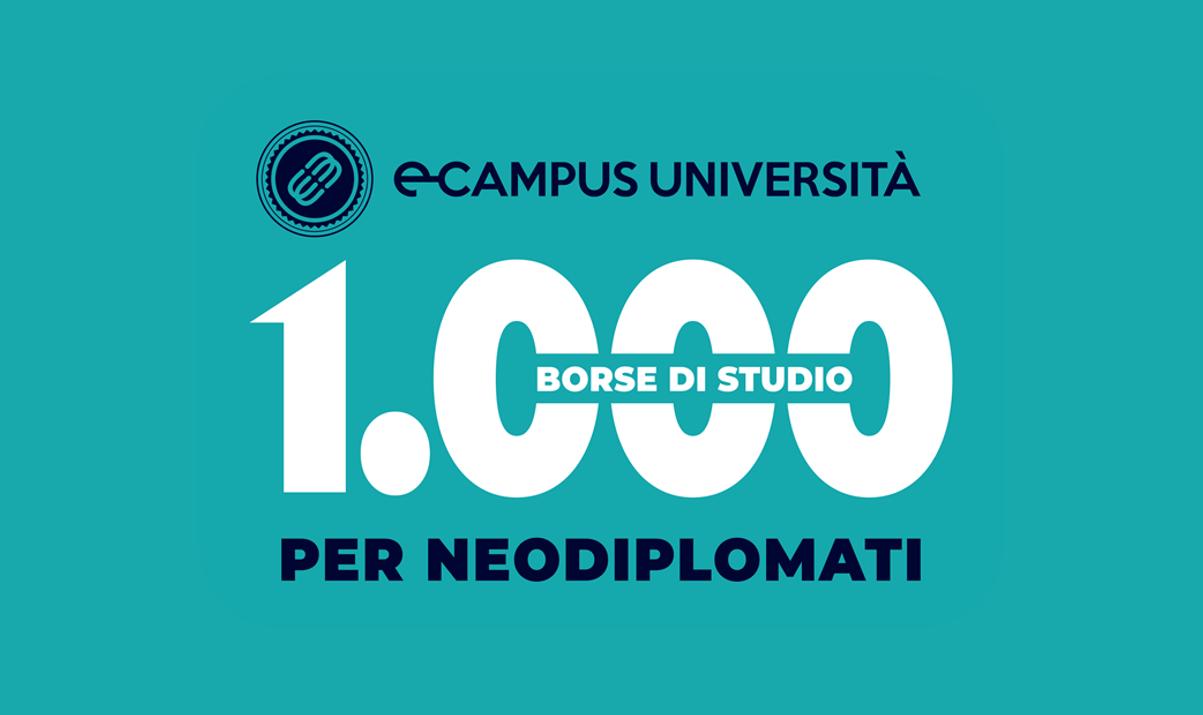 Iscriversi all'Università e-Campus, 1.000 Borse di studio per neodiplomati