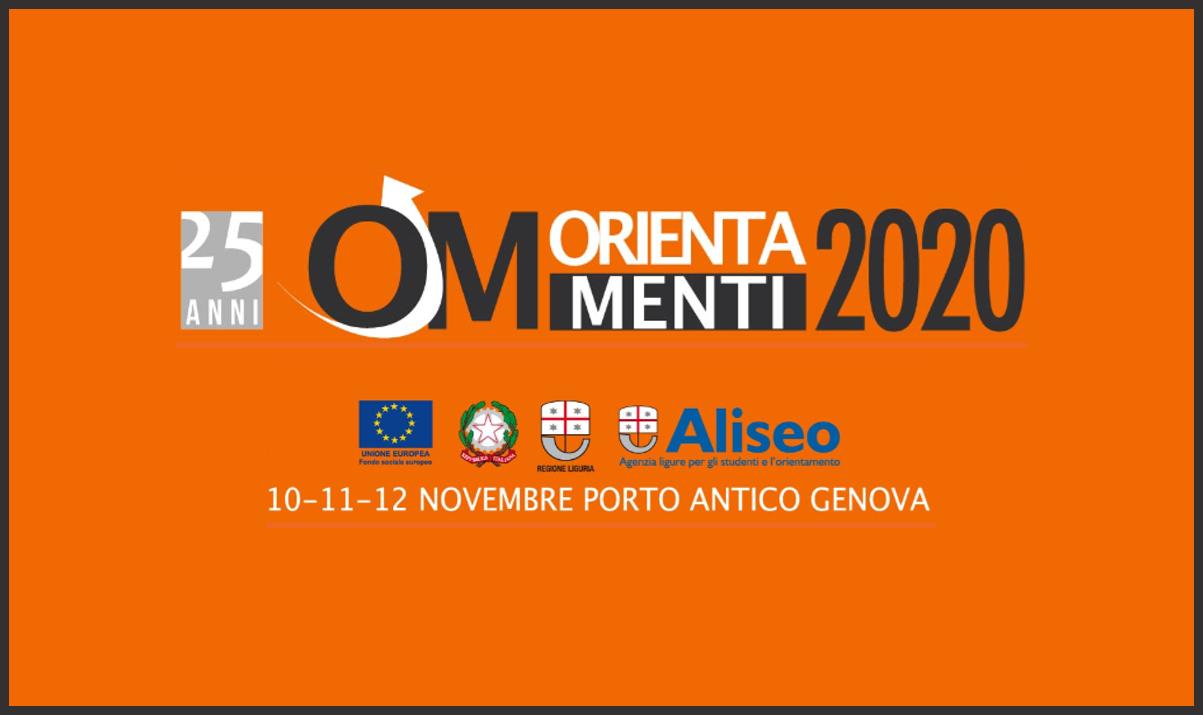 Orientamenti 2020: a novembre la XXV edizione del Salone di Genova dedicato all'orientamento