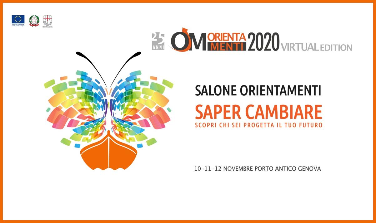 Orientamenti 2020: al via le iscrizioni online al Salone virtuale!