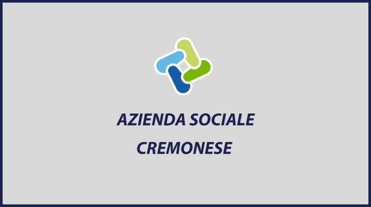 Azienda Sociale Cremonese: bando graduatoria di Assistenti sociali da assumere a tempo indeterminato