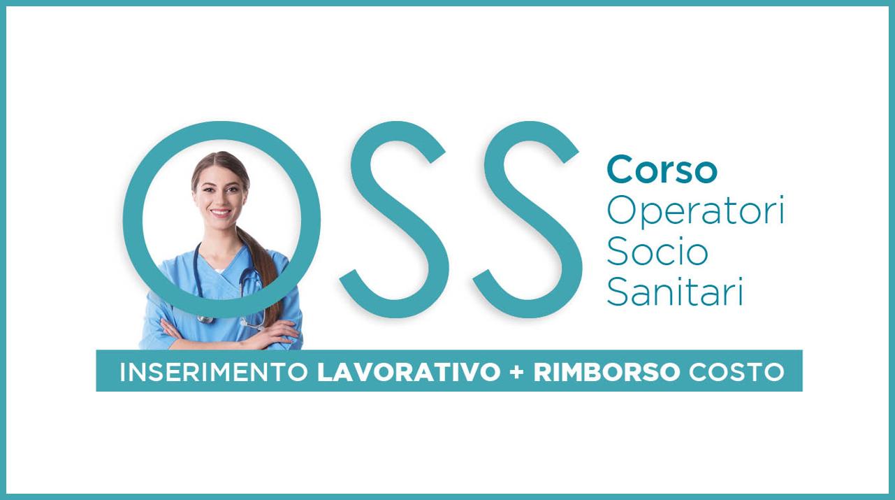 Corso OSS con rimborso delle spese di partecipazione e inserimento lavorativo