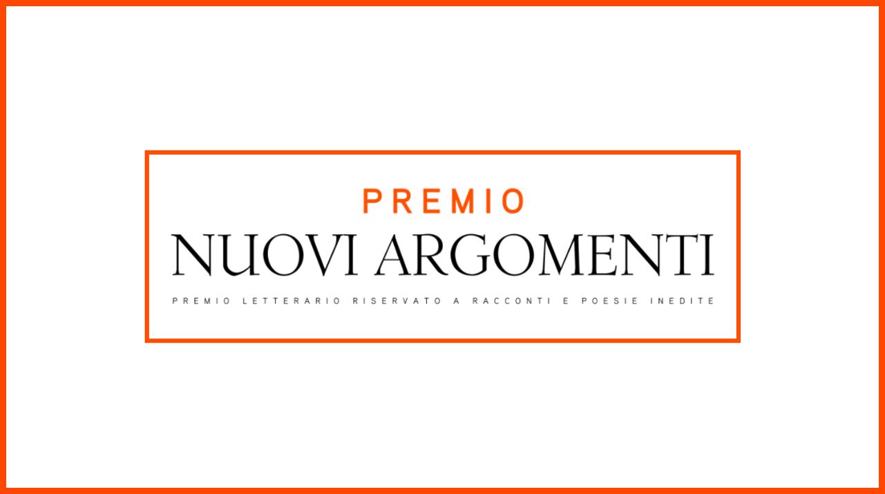 Premio letterario gratuito Nuovi Argomenti (Mondadori) per opere inedite: in palio pubblicazione e buoni libro