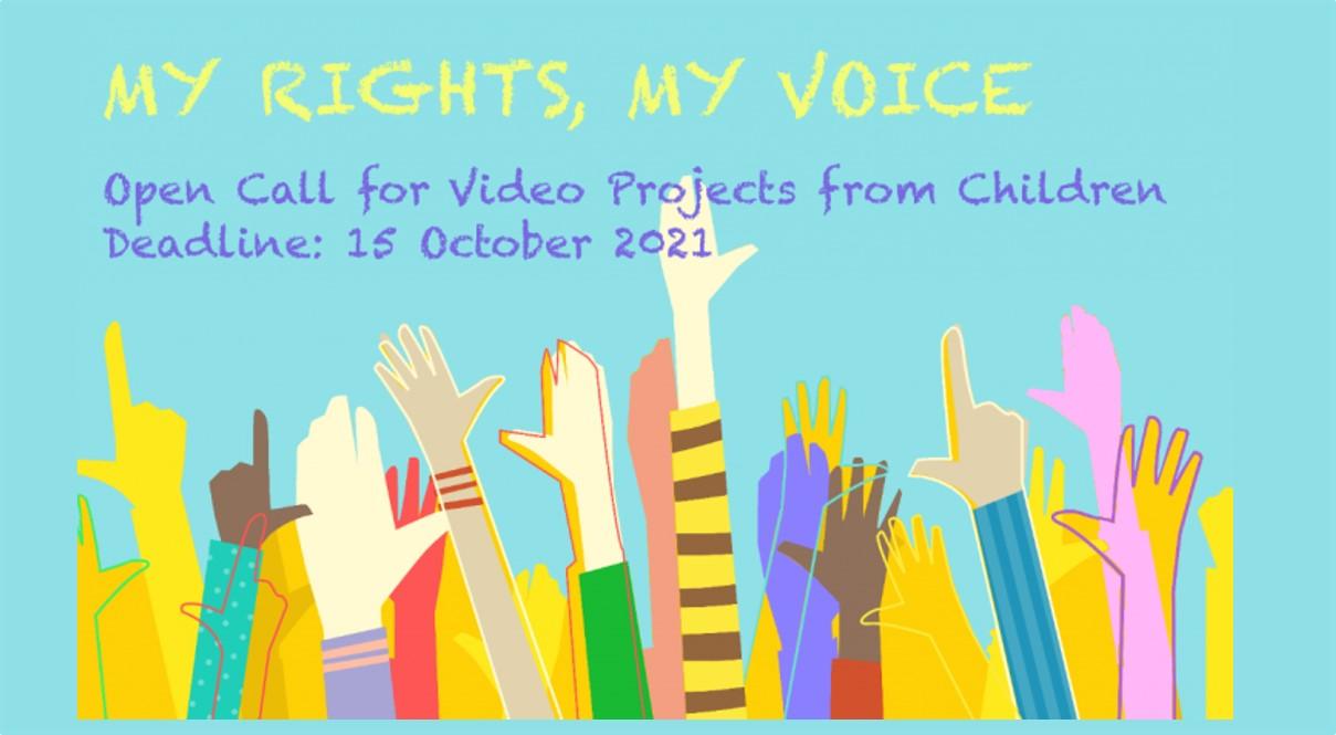 My rights, my voice: concorso per video registrati da giovani tra i 10 e i 17 anni