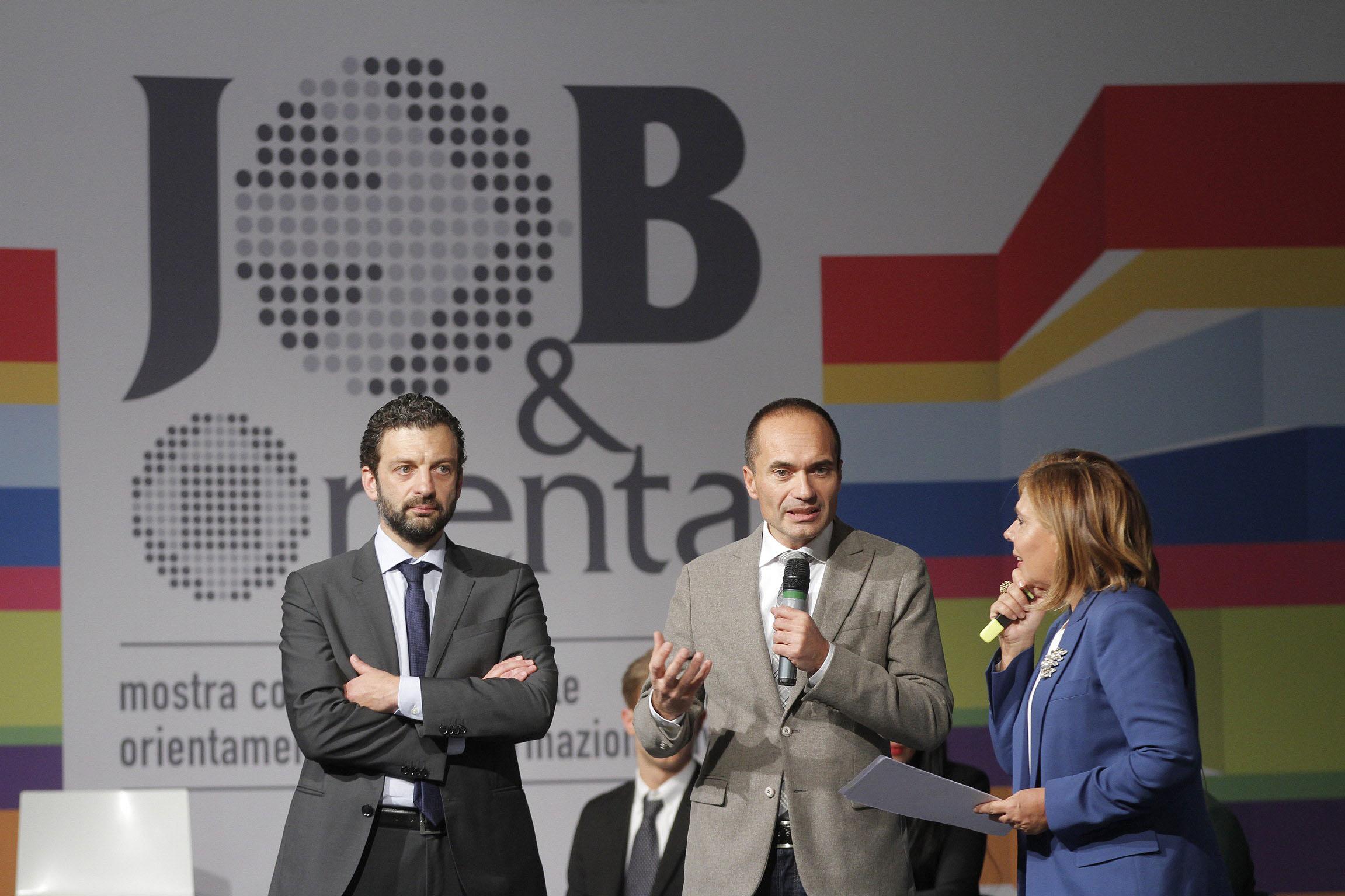 Gabriele Toccafondi, Sottosegretario del MIUR a JOB&Orienta