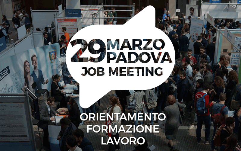 Job Meeting Padova 2017