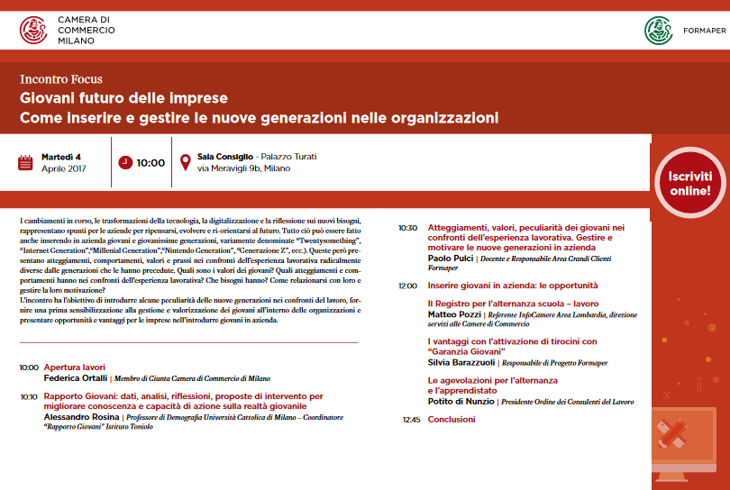 Giovani futuro delle imprese: come inserire e gestire le nuove generazioni nelle organizzazioni