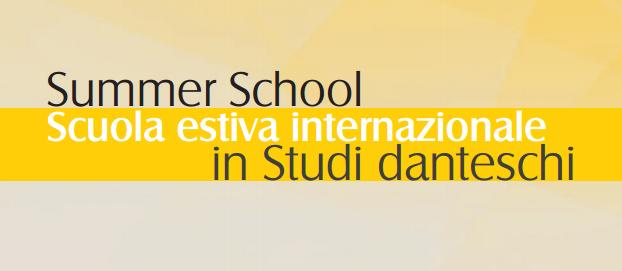 Scuola estiva internazionale in studi danteschi