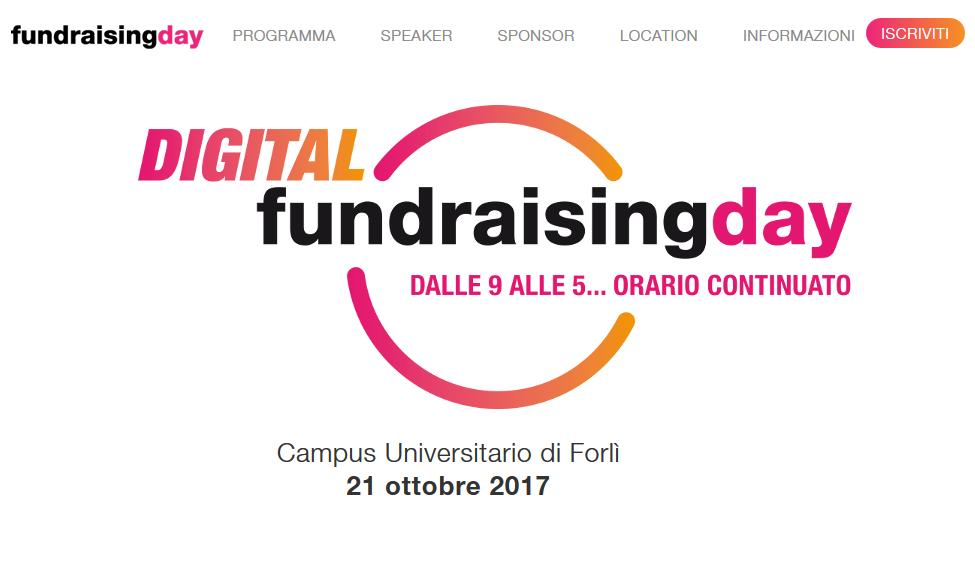 FundRaising Day per sapere tutto sulla raccolta fondi online