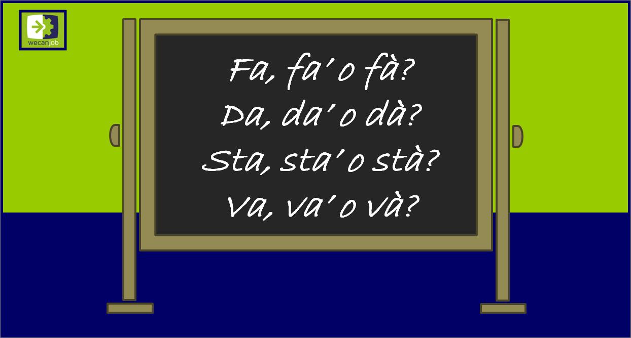 Gli errori più comuni in italiano