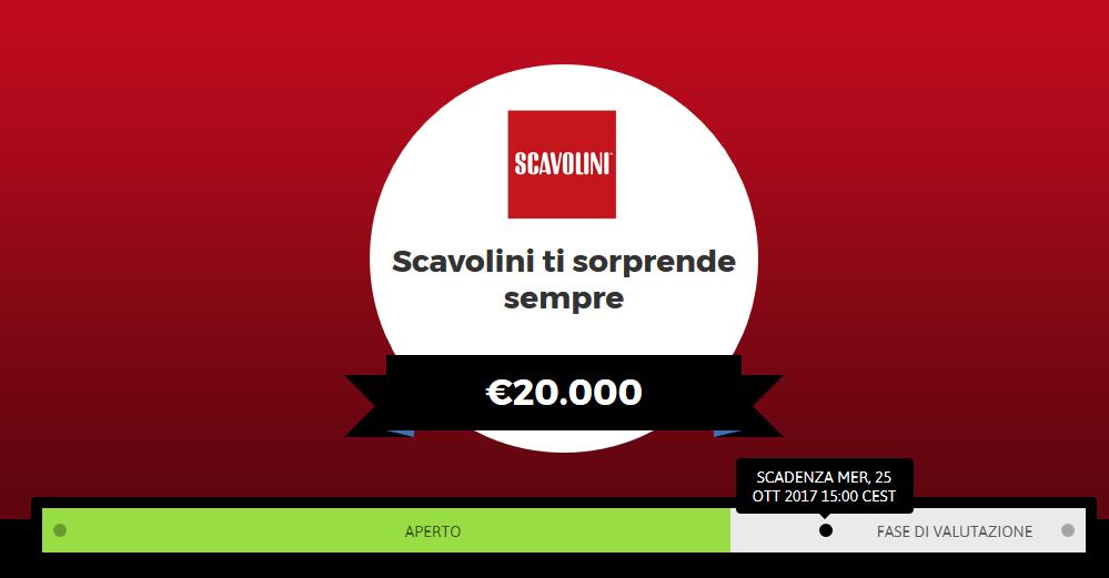 Zooppa cerca video straordinari per Scavolini: premi fino a 20.000 euro