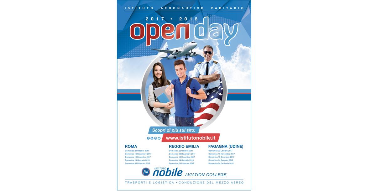 Open Day Istituto aeronautico Nobile - Aviation College
