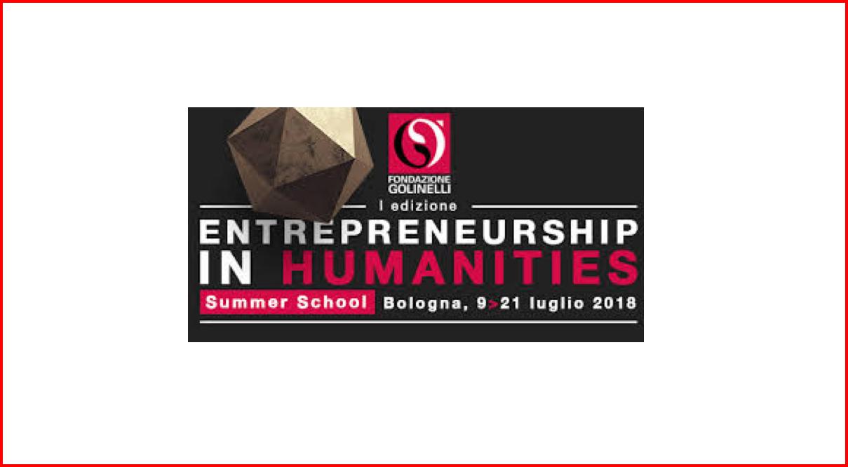 Al via la prima edizione della Summer School Entrepreneurship in Humanities