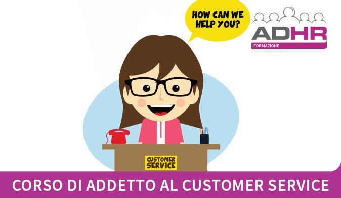 Corso gratuito per Addetti al customer service