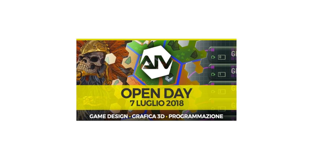 Accademia Italiana Videogiochi - Open Day il 7 luglio