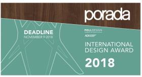 Premio internazionale nel campo del design: 10.000 euro in palio!