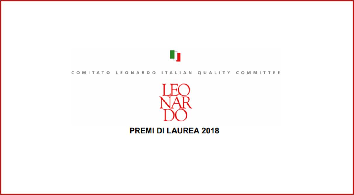Premi di Laurea Leonardo: 8 borse di studio da 3.000 euro e 4 tirocini retribuiti