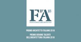 Festa dell'architetto 2018: 2 Premi per i migliori architetti