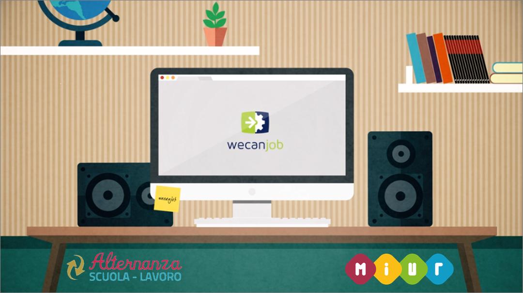Alternanza scuola-lavoro con WeCanJob: gratuita e in convenzione con il MIUR