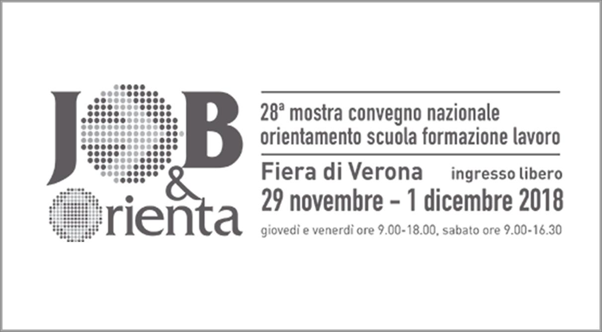 JOB&Orienta 2018 - A Verona la più grande manifestazione italiana dedicata all'Orientamento