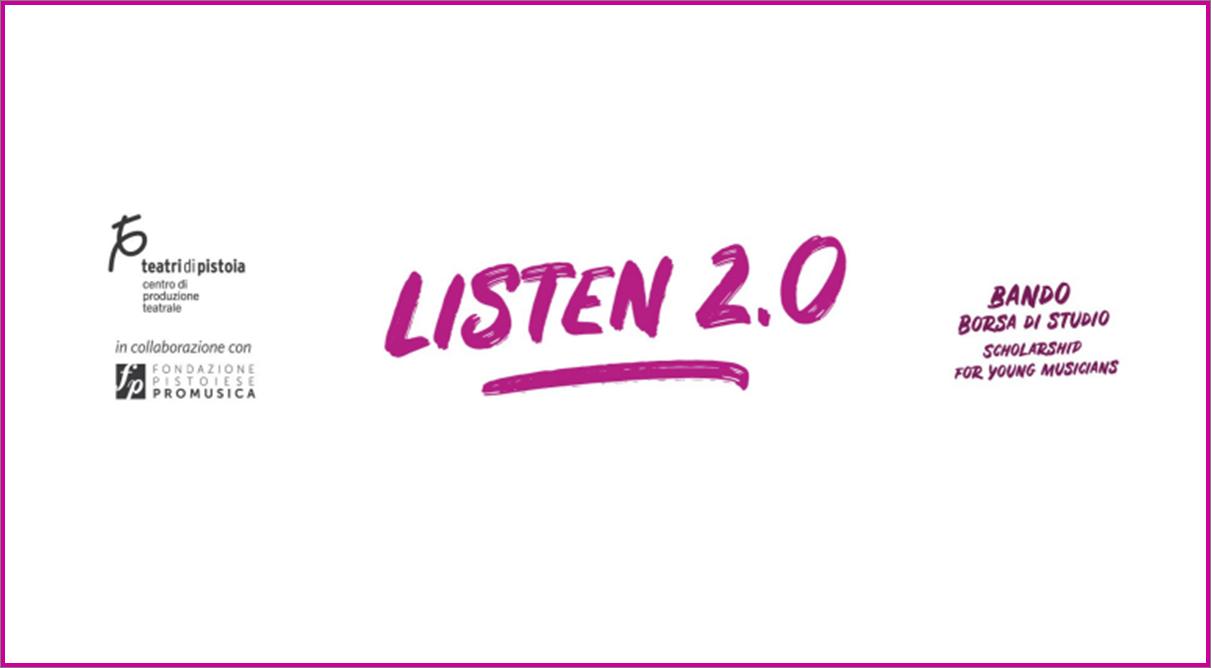 Listen 2.0 - Borse di studio per musicisti