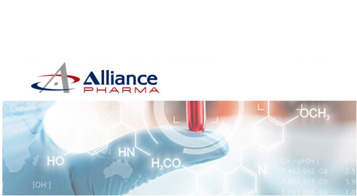 Alliance Pharmaceuticals cerca ISF in 5 Regioni