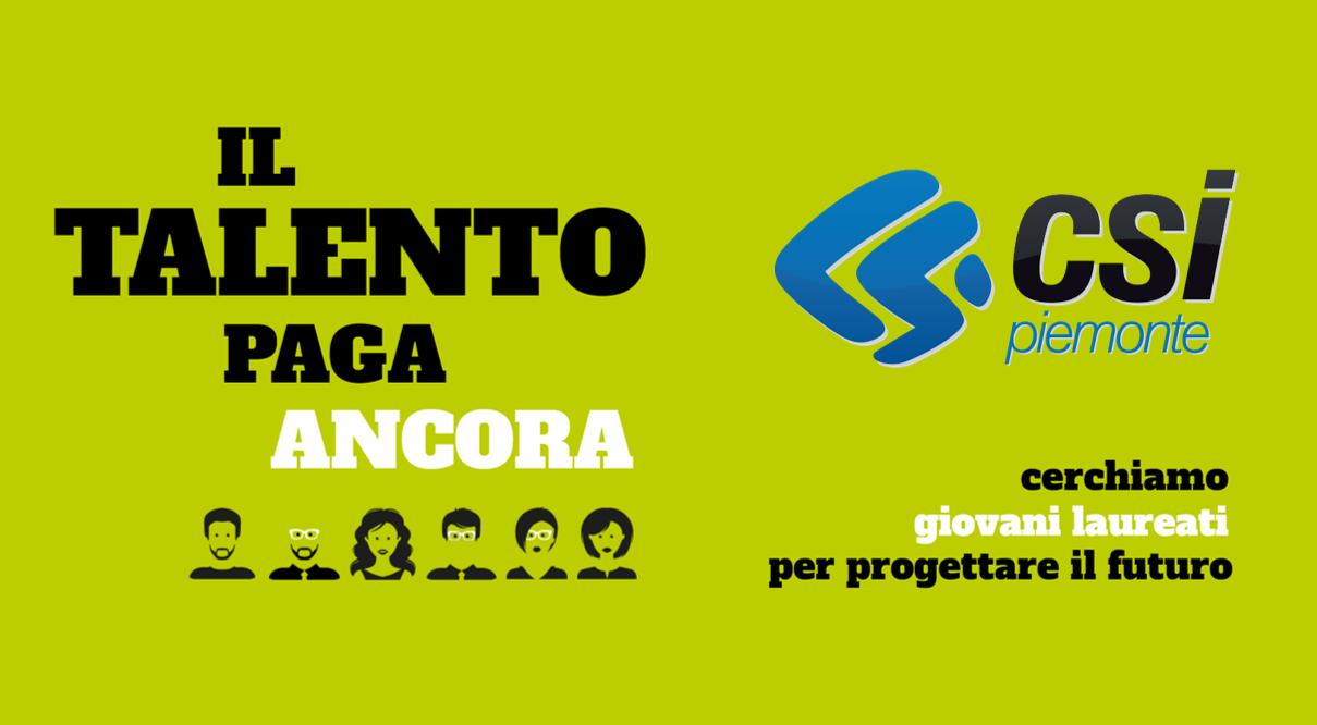 CSI Piemonte cerca neolaureati in Economia, Ingegneria, Informatica e non solo