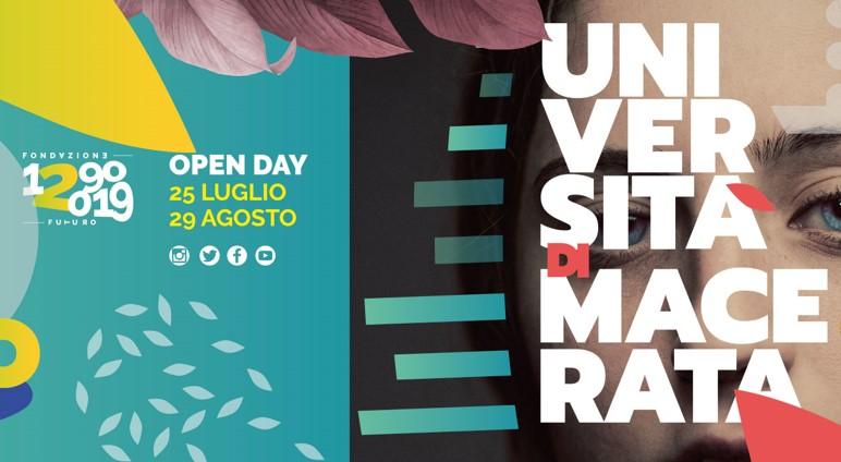 Università di Macerata: Open day a luglio e agosto
