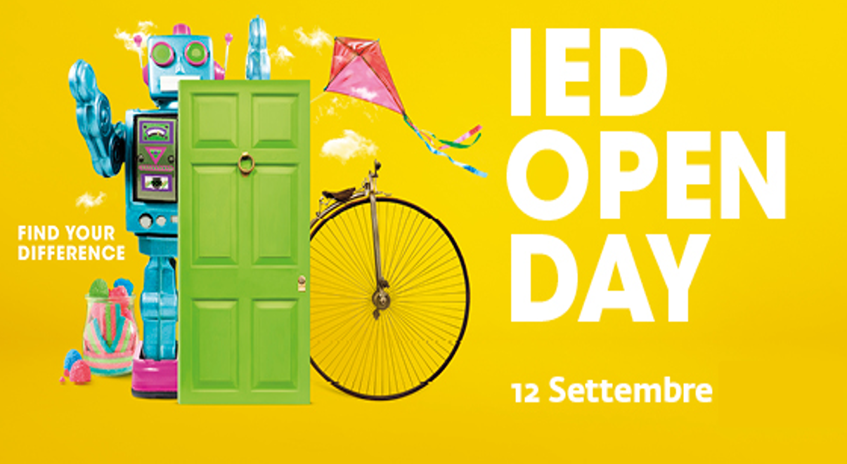 IED, a settembre l'Open day