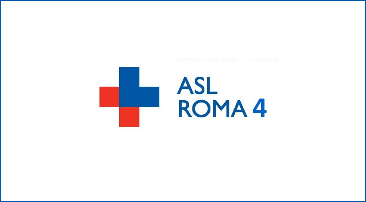 Risultato immagini per AZIENDA SANITARIA LOCALE ROMA 4