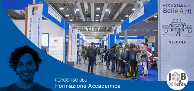 """Job&Orienta 2019: il percorso blu dedicato alla """"Formazione accademica"""""""