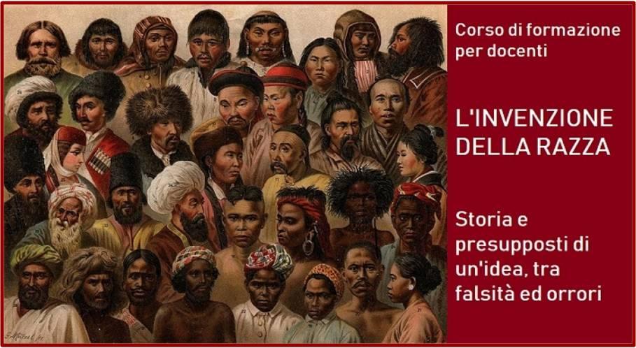 """""""L'invenzione della razza"""", corso di formazione per docenti e educatori"""