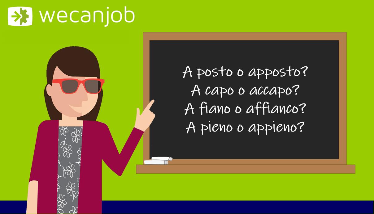 Gli errori più comuni della grammatica italiana: si scrive attaccato o staccato?