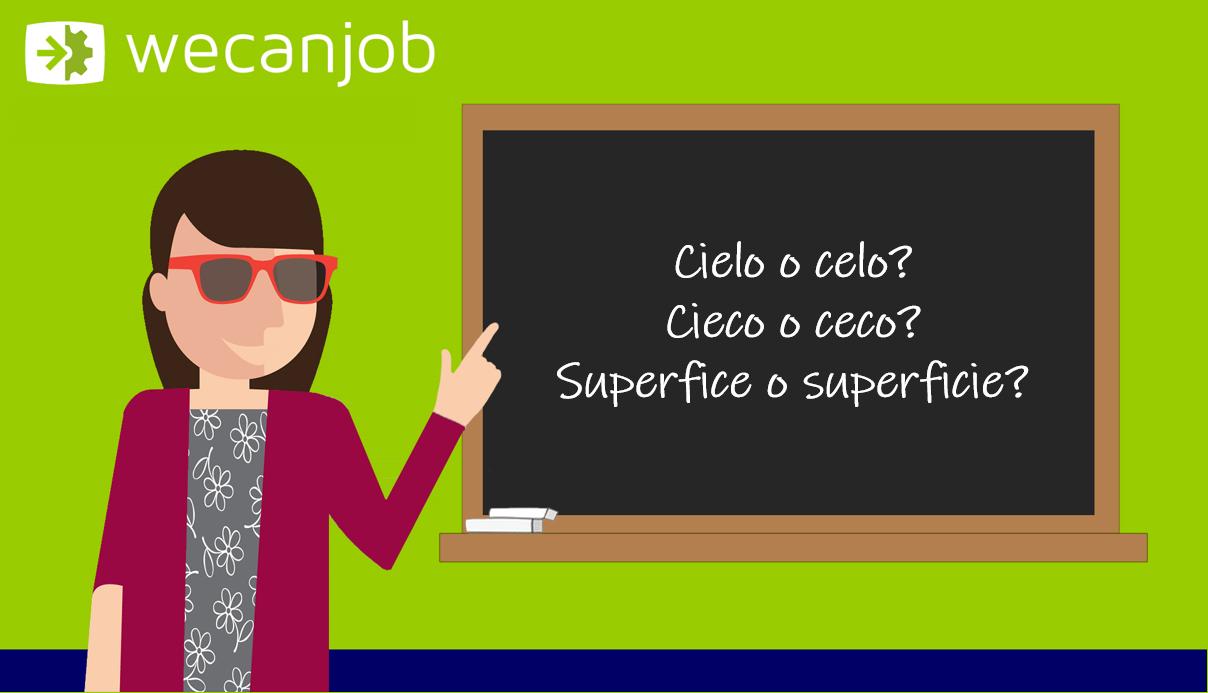 Errori più comuni della grammatica italiana: si scrive con la i o senza i?