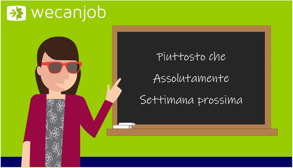 """Gli errori più comuni della lingua italiana: il corretto uso di """"piuttosto che"""", """"assolutamente"""" e """"settimana prossima"""""""