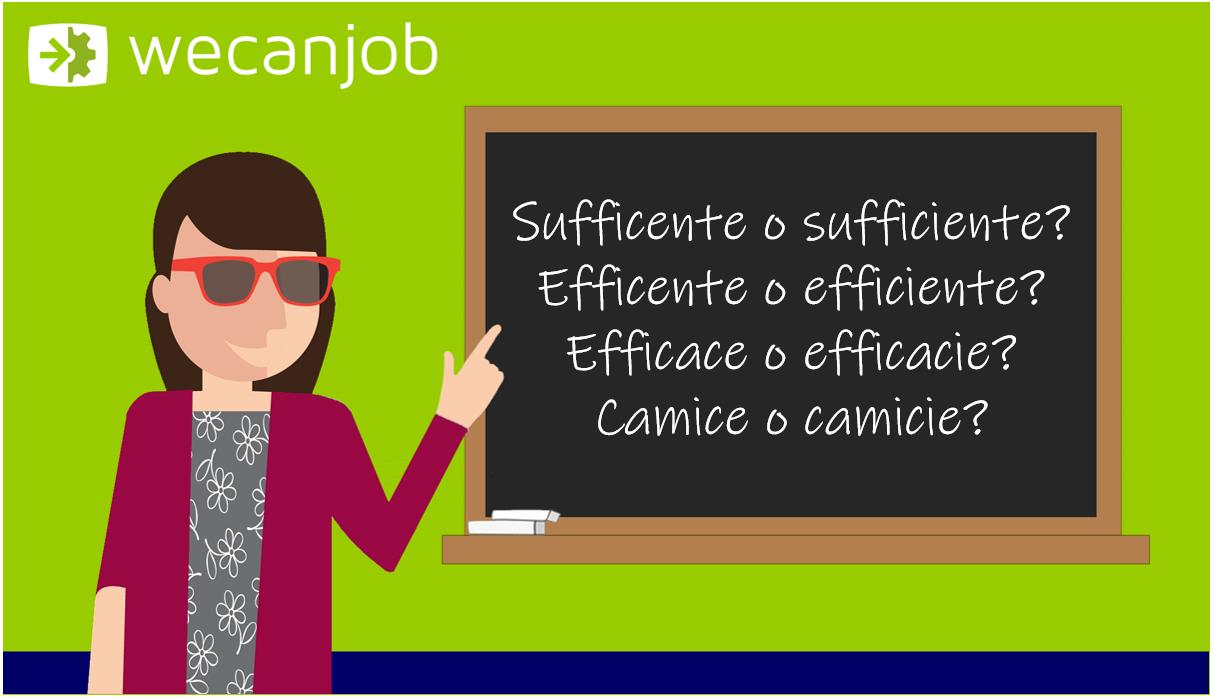Gli errori più comuni della grammatica italiana: con la i o senza?